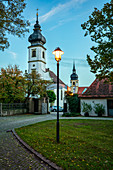 in the old town of Rödelsee, Kitzingen, Lower Franconia, Franconia, Bavaria, Germany, Europe