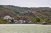 Beilstein an der Mosel mit Burg Metternich, Rheinland-Pfalz, Deutschland, Europa