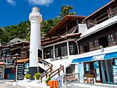 Lighthouse of Morro de Sao Paulo, Tinhare Island, Bahia, Brazil, South America