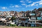 Favelas, Salvador da Bahia, Brazil, South America