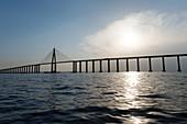 Bridge over the Amazon at Manaus, Ponte Rio Negro, Amazon Basin, Brazil, South America