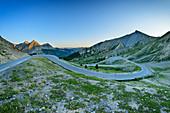Pass road Col d´Izoard, Cottian Alps, Hautes-Alpes, France