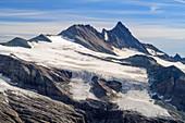 Großglockner vom Großer Muntanitz, Granatspitzgruppe, Hohe Tauern, Hohe Tauern National Park, East Tyrol, Austria