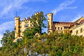 Hohenschwangau Castle, Füssen, Allgäu, Bavaria, Germany