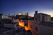Spring evening in the suburbs of Valletta, Malta, Europe