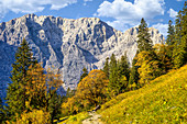 Auf dem Weg zur Falkenhütte, Eng, Hinterriß, Karwendel, Tirol, Österreich