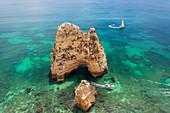 Ponta da Piedade near Lagos, Algarve, Portugal