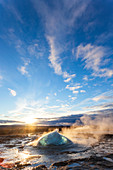 Strokkur (the Churn), Geysir, Golden Circle, Iceland