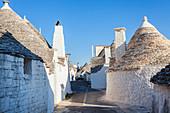Trulli Houses; Alberobello; Apulia; Puglia; Italy