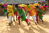 Dancers from Gujarat, India