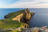 Lighthouse, Neist Point, Isle of Skye, Highland Region, Scotland