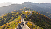 The Great Wall at Mutianyu near Beijing in Hebei Province, China