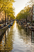 Canal, central Amsterdam, The Netherlands
