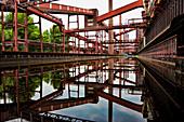 Coking Plant, Kokerei Zollverein, Essen, Ruhr Valley, Ruhr, Northrhine Westphalia, Germany