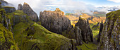 The Quiraing, Trotternish, Isle of Skye, Hebrides, Scotland, UK