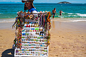 João Fernandes Beach\n\n\nArmação dos Búzios , often referred to as just Búzios, is a resort town and a municipality located in the state of Rio de Janeiro, Brazil. In 2012, its population consisted of 23,463 inhabitants and its area of 69 km². Today, Búzios is a popular getaway from the city and a worldwide tourist site, especially among Brazilians and Argentinians.\n\nIn the early 1900s Búzios was an almost unkown village of fishermen. It remained as such until 1964, when the French actress Brigitte Bardot visited Búzios, since then Búzios became popular with the Carioca's high society, who wante