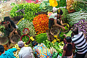 Vegetable Market in Matara South coast Sri Lanka