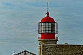 Lighthouse at Cabo de Sao Vicente, Algarve, Portugal