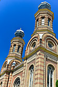 The synagogue, built in the Moorish style, in Szombathely, Hungary
