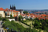View of Prague, Czech Republic, Europe