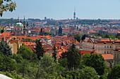 View of Prague, Czech Republic, Europe