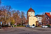 Westertor in Memmingen, Bavaria, Germany
