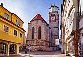 St. Martin Kirche in Memmingen, Bayern, Deutschland