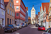 Ulmer Tor in Memmingen, Bavaria, Germany