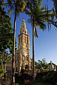 Die barocke Kirche von Sainte Anne, La Réunion, Frankreich