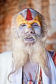 Sadhu or holy man, Kathmandu, Nepal
