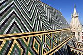 Austria, Vienna, St Stephen Cathedral, roof,