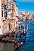 Gran Canal and Santa Maria della Salute Church, Venice, Veneto Italy, ,Europe
