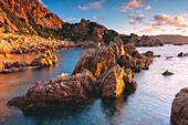 Spiaggia li Cossi, Costa Paradiso, Sassari province, Gallura region, Italy, Europe.
