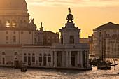 Punta della Dogana and the Church of Santa Maria della Salute. Venice, Veneto, Italy, Europe.