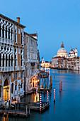 The Grand Canal during Coronavirus, Venice, Veneto, Italy, Europe