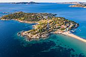 Isola dei Gabbiani (Island of Seagulls) in Porto Pollo, Palau,  Olbia-Tempio,  Sardinia, Italy