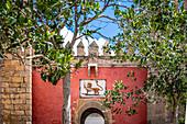 Details of the Real Alcazar entrance. Seville, Andalucia, Spain