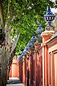 Details of Plaza de Espana. Seville, Andalucia, Spain