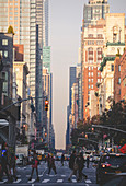 One of the many New York Avenues. Manhattan, New York, USA