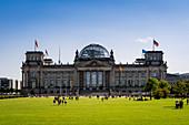 Reichstag building, Berlin, Germany, Europe, West Europe.