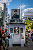 Checkpoint Charlie, Berlin, Germany, Europe, West Europe