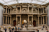 Market Gate of Miletus, Pergamon Museum, Museum Island, Berlin, Germany, Europe, West Europe