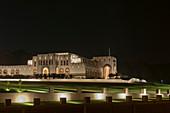 Parliament building in Al Bustan district, Muscat, Oman.