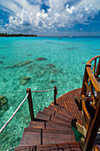 Kia Ora Resort, Rangiroa, Tuamotu Archipelago, French Polynesia.