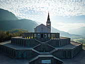 Saint Anthony's sanctuary (Caporetto memorial), Kobarid, Goriska, Slovenia