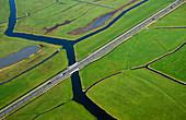 Dutch polders, Noordeinde, Noord-Holland, Netherlands