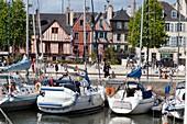 France, Morbihan, Golfe du Morbihan, Vannes, yachting harbour