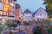 France, Haut Rhin, Alsace Wine Route, Colmar, place of the Ancienne Douane