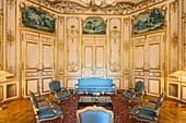 France, Paris, Heritage Days 2017, Hotel de Matignon, Prime Minister's Office, the Blue Room