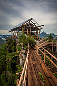 Lookout point in Vang Vieng, Laos, Asia